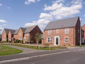 New build houses UK